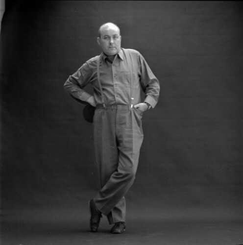 Dieter Roth - Portraitfotografie von Lothar Wolleh (Düsseldorf, 2014)