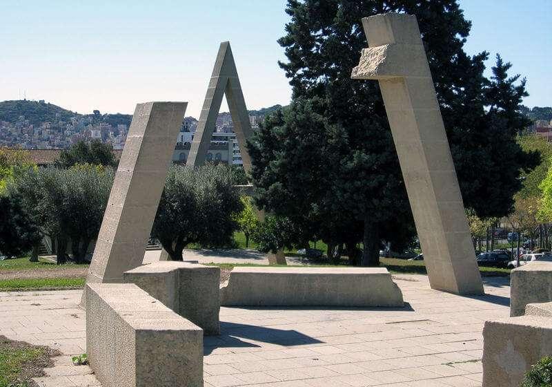 Skulptur von Joan Brossa