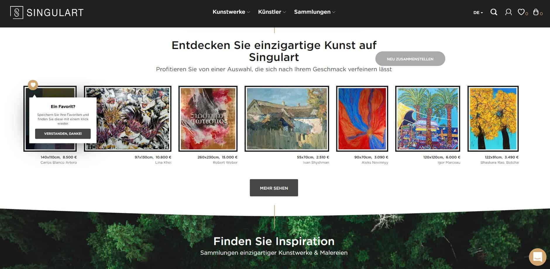 Singulart - Internationale Online Kunstgalerie