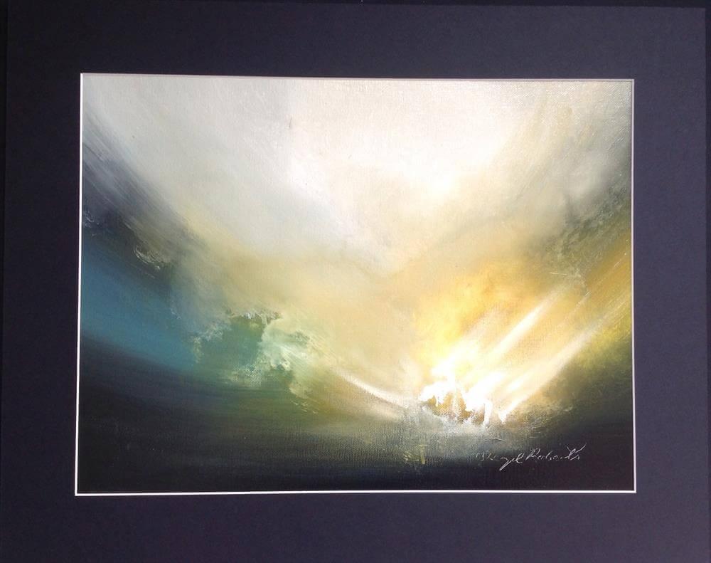"""""""Precision"""" - Unikat in Öl und Acryl von Sheryl Roberts"""