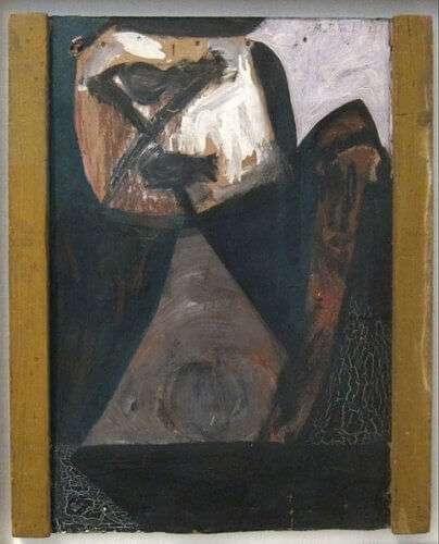 """""""Ulysses"""" von Robert Motherwell (1947), Tate Modern (GB)"""