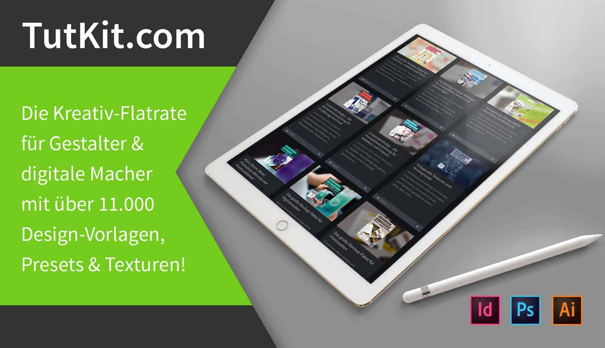 Tutkit.com - Die Kreativ-Flatrate für digitale Macher