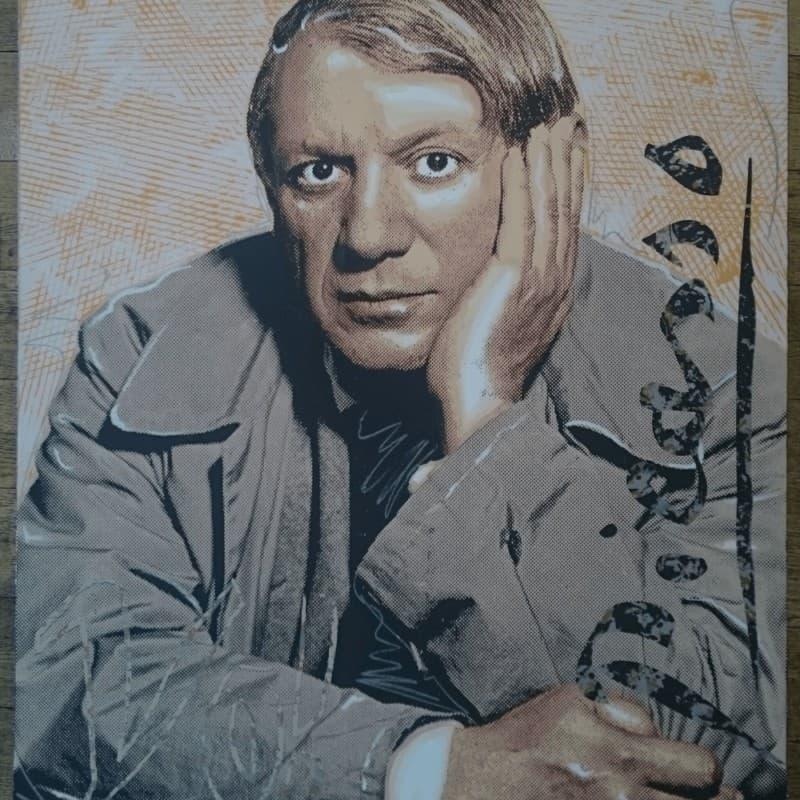 """""""Yo! Picasso"""" - Limitierter Siebdruck von Richard Duardo"""