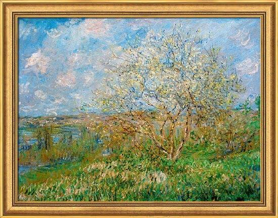 """""""Der Frühling"""" von Claude Monet (limitierte Reproduktion)"""