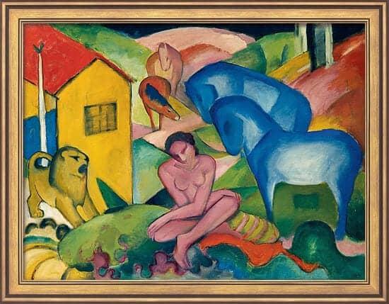 """""""Traum"""" von Franz Marc (limitierte Reproduktion)"""