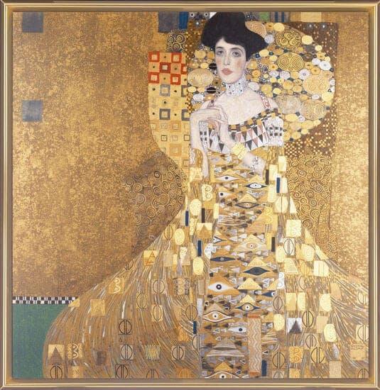 """""""Adele Bloch-Bauer I"""" von Gustav Klimt (limitierte Reproduktion)"""