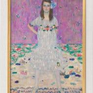"""""""Bildnis Mäda Primavesi"""" von Gustav Klimt (limitierte Reproduktion)"""