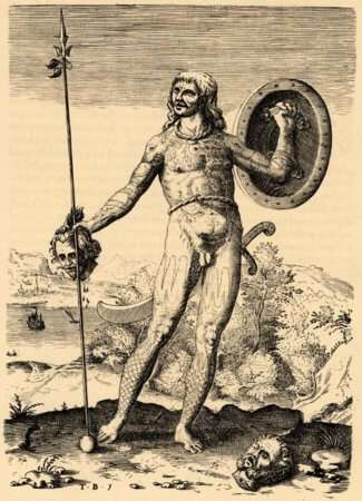 The Trvve Picture of One Picte von Theodor de Bry