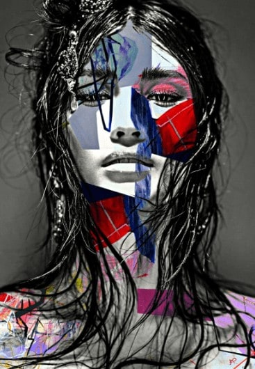 """Sunshine"" - Digital Art als limitierter Giclée-Print von Rich Ray Art"