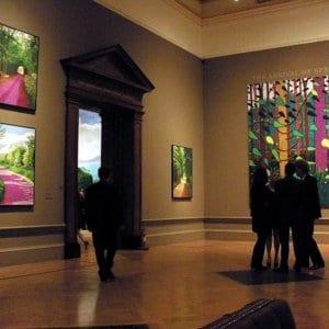 David Hockneys Weg zur Kunst: So viel mehr als nur Talent