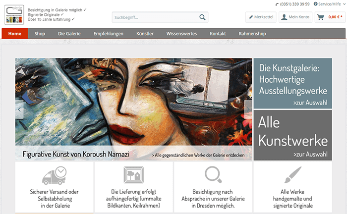 EventART - Die Kunstmacher (Screenshot)