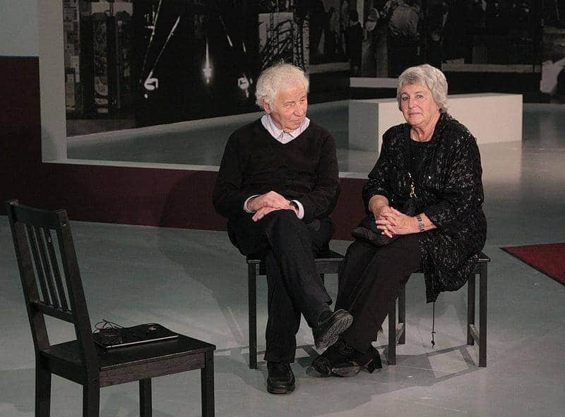 Emilia und Ilya Kabakov in Moskau (2013)