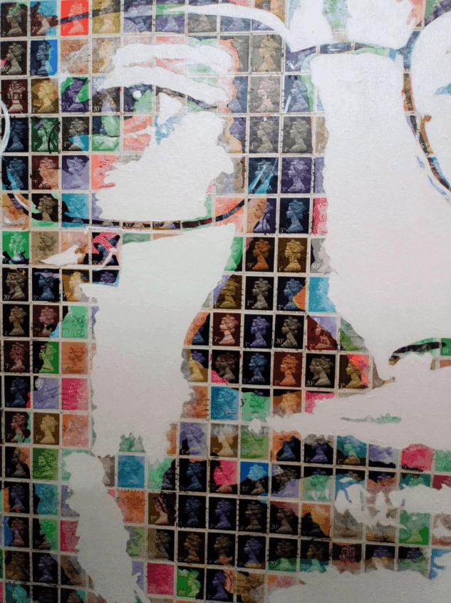 """""""Hawking"""" - Pop Art Collage von Gary Hogben"""