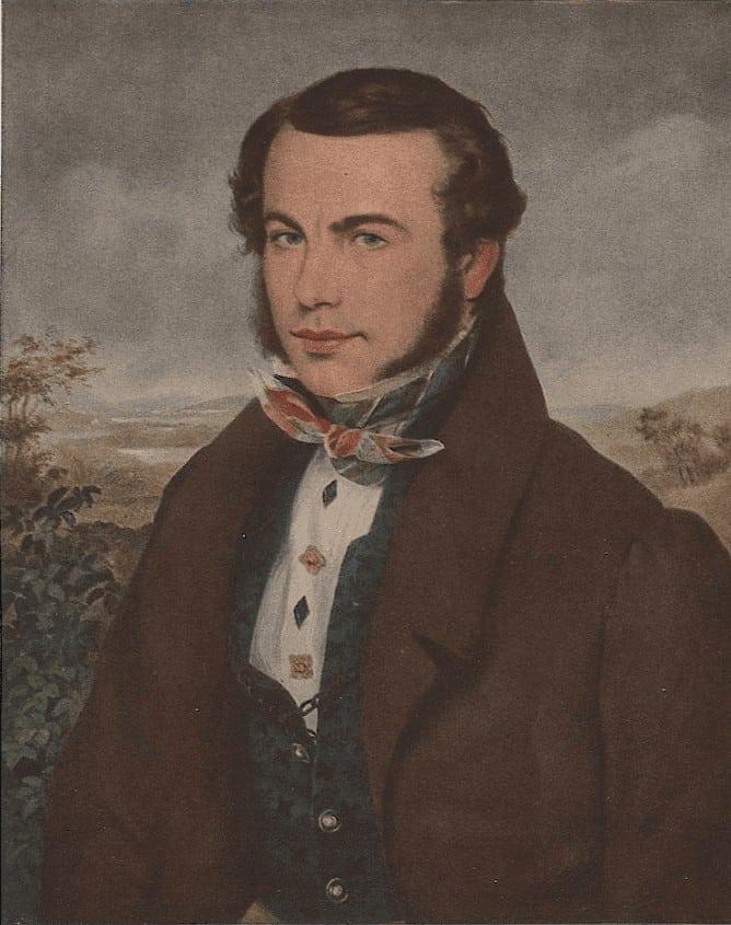 Ferdinand Georg Waldmüller - Bildnis Adalbert Stifter