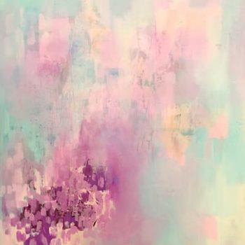 Abstrakte Kunst - Abstraktes Gemälde und Beispiel Nicht-Gegenständlicher Kunst