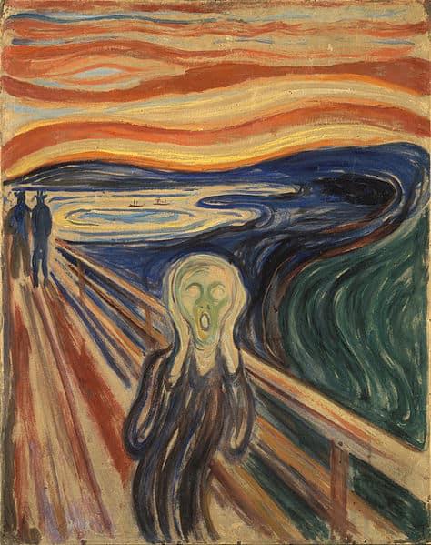 Kunst-Reproduktionen: Der Schrei von Edvard Munch