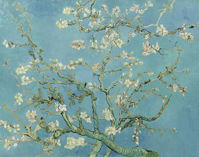 Kunst Repliken: Mandelbaum in Blüte / Almond Blossoms von Vincent van Gogh