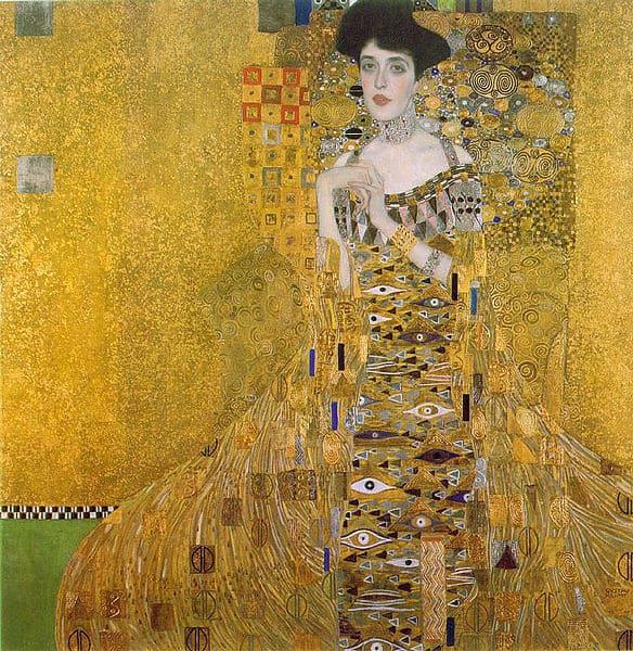 Meisterwerke der Kunst: Adele Bloch-Bauer I von Gustav Klimt