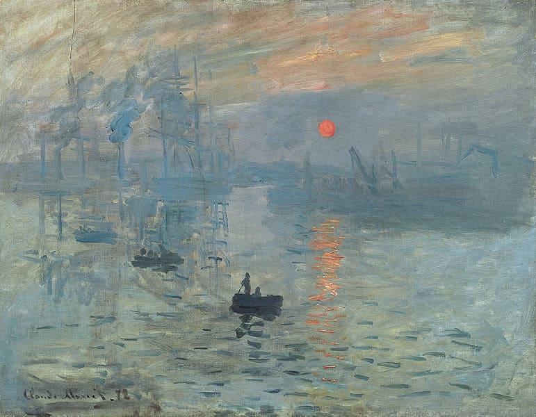 Ölgemälde Reproduktionen: Impression, Sonnenaufgang von Claude Monet