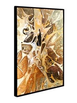 "Modern art ""Apricot"" Unikat von Dieu (2019)"