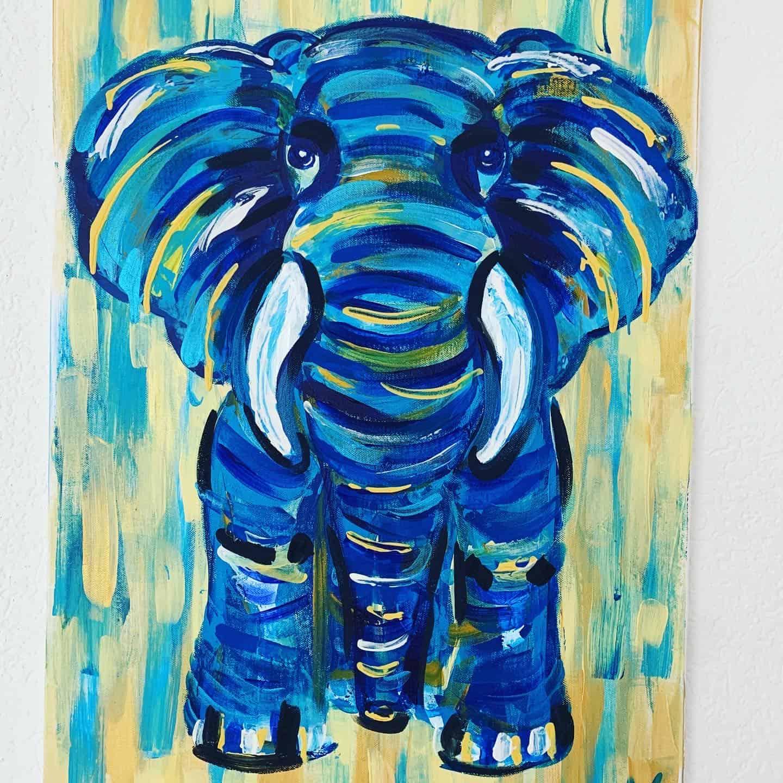 Elefant Kunstplaza