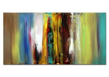 """abstrakte Kunst kaufen """"Night Falls"""" von Dieu (2019)"""