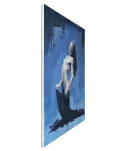 """Zeitgenössisches Wandbild in Öl """"Act 150"""" von M. Marz"""