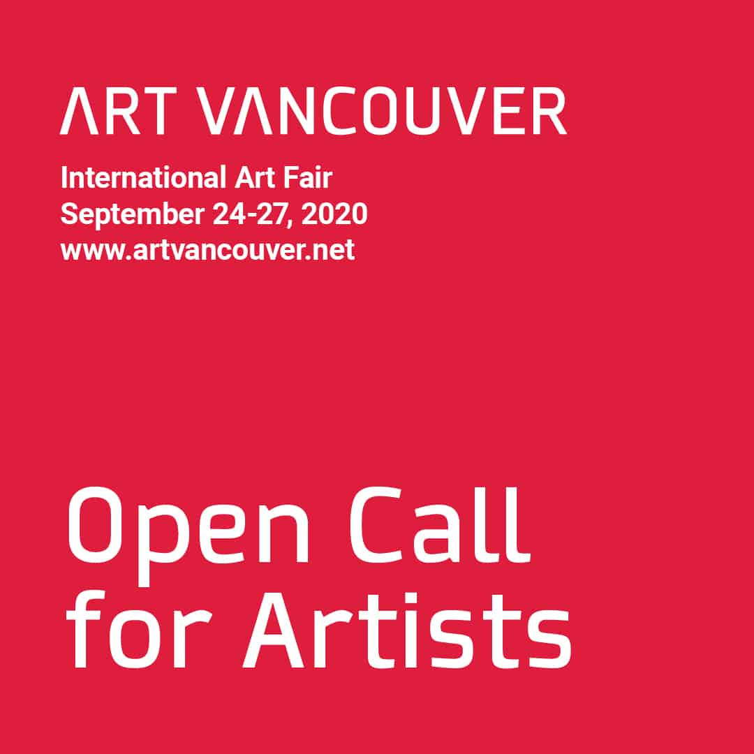 Art Vancouver 2020 - Call for Artists
