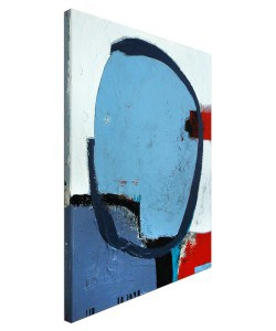 """modernes Acrylgemälde """"Sommer am See"""" von C. Niehoff"""
