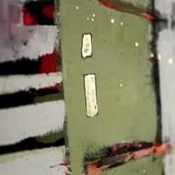 """Urbanes Wandbild """"Stadtgeschichte"""" von C. Niehoff"""