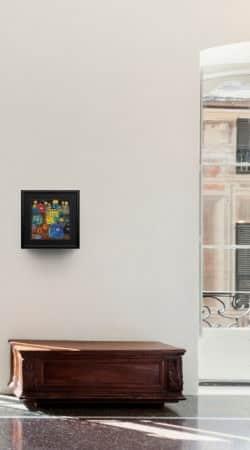 "Friedensreich Hundertwasser: ""Pavillions and Bungalows"", Massivholzleiste"