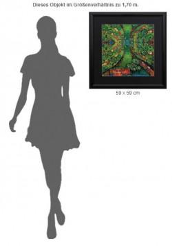 """Friedensreich Hundertwasser: """"Green Town"""", Reproduktion"""