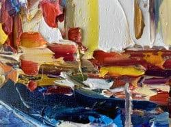 """""""Lively Emotions"""" - Abstraktes Ölgemälde von Tetiana BOND"""