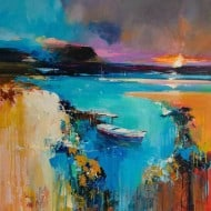 """Abstraktes Kunstwerk """"Deep Water"""" von Tetiana BOND"""
