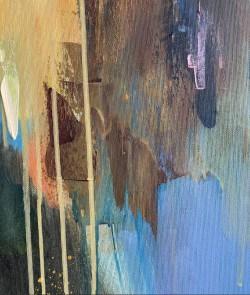 """Abstrakte Küstenlandschaft """"Eternity Now"""", Öl auf Leinwand von Tetiana BOND"""