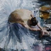 "Abstrakte Malerei ""The Favourite"" von Tetiana BOND"