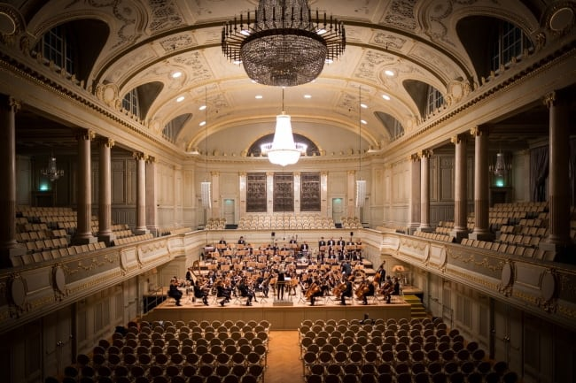 Klassische Musik - Ein klassisches Orchester