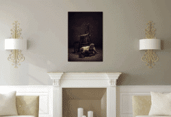 """Buried II"" – Konzeptuelle Fotografie von Peter Zelei als limitierter Giclée Print"