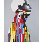 """Acrylmalerei """"Meditation"""" (2015) von Edyta Grzyb als Fine-Art-Pigmentdruck"""