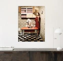 Fotografie von Federico Naef - Penny&Wuffy - Limited Edition (15 Exemplare) aus der Serie EAT ME
