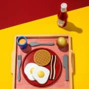 "Retrodesign Fotografie von Federico Naef - ""Breakfast in America"" Limited Edition (15 Exemplare)"