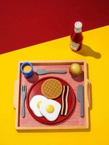 """Retrodesign Fotografie von Federico Naef - """"Breakfast in America"""" Limited Edition (15 Exemplare)"""