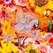 Poster, digitale Kunst mit dem Titel Dschungel, erstellt 2006 Photoshop, erhältlich als Kunstdruck