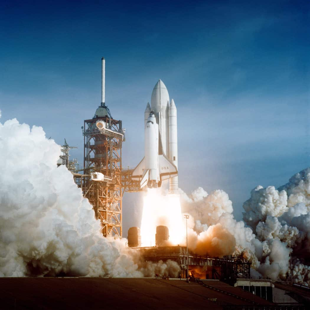 Kennedy Space Center - Erster Start des Space Shuttles Columbia