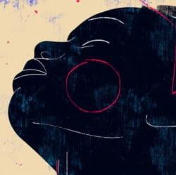 """""""Moá #8"""" - Figurativer Kunstdruck (streng limitiert) des brasilianischen Künstlers Luciano Cian"""