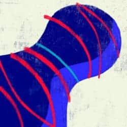 """""""Geo #7"""" – Figurativer Kunstdruck (streng limitiert) des brasilianischen Künstlers Luciano Cian"""