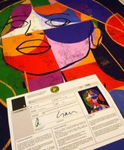 """""""Mater #6"""" – Figurativer Kunstdruck (streng limitiert) des brasilianischen Künstlers Luciano Cian"""