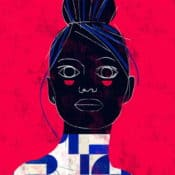 """""""Geo #6"""" – Figurativer Kunstdruck (streng limitiert) des brasilianischen Künstlers Luciano Cian"""