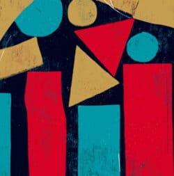 """""""Ville #3"""" – Limitierter Kunstdruck eines Frauenportraits des brasilianischen Künstlers Luciano Cian"""