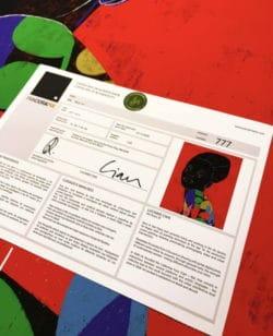 """Luciano Cian: """"Moá #6"""" – Ethnisches Frauenportrait als Limitierter Kunstdruck"""